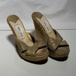 JIMMY CHOO wedge heels
